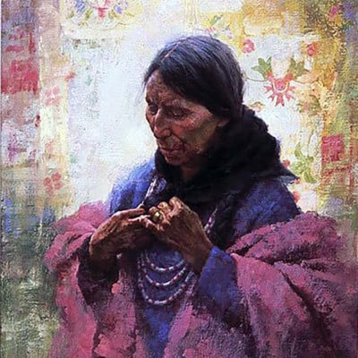 Cree Finery - Howard Terpning