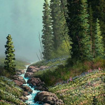 Creekside Blooms - Roger Arndt