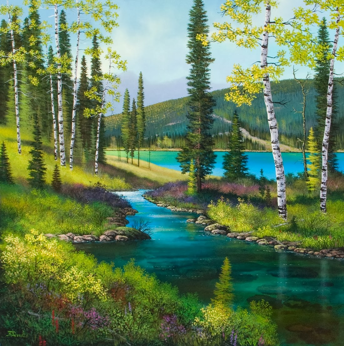 Creekside Colors - Roger Arndt