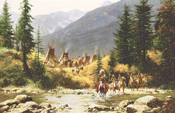 Crow Country Howard Terpning