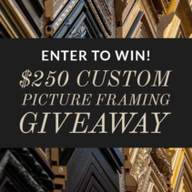 Custom Framing Giveaway