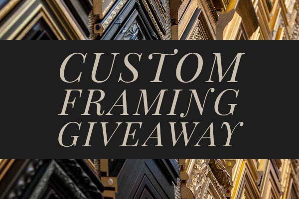 Custom Framing Giveaway - Tile