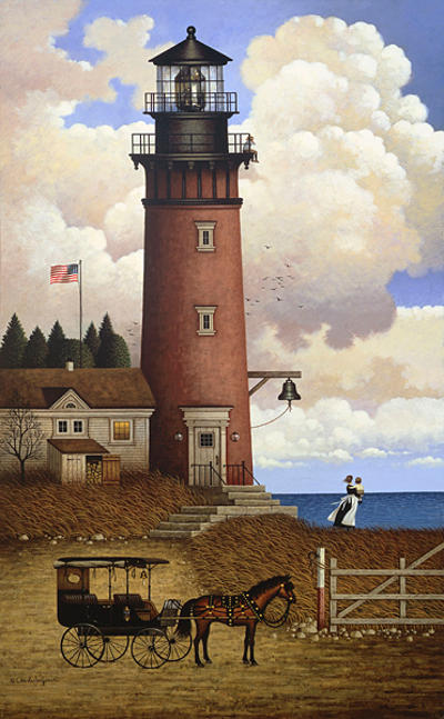 Daddy's Coming Home Charles Wysocki