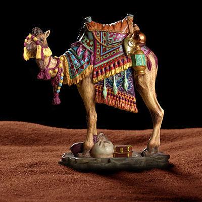 Darius The Camel Porcelain James Christensen