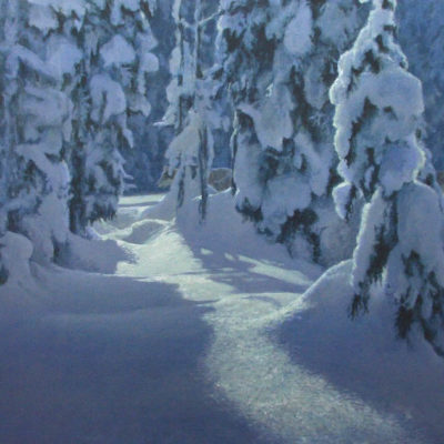 Deep Winter - Robert Bateman
