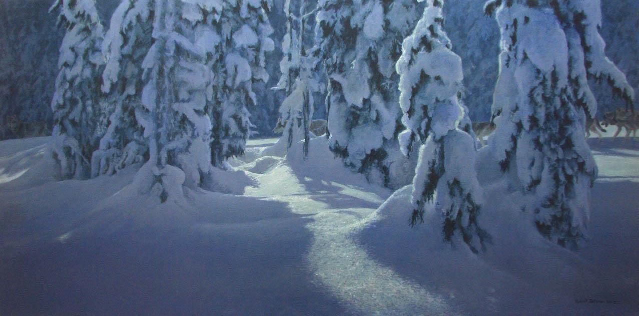 Deep Winter - Robert Bateman