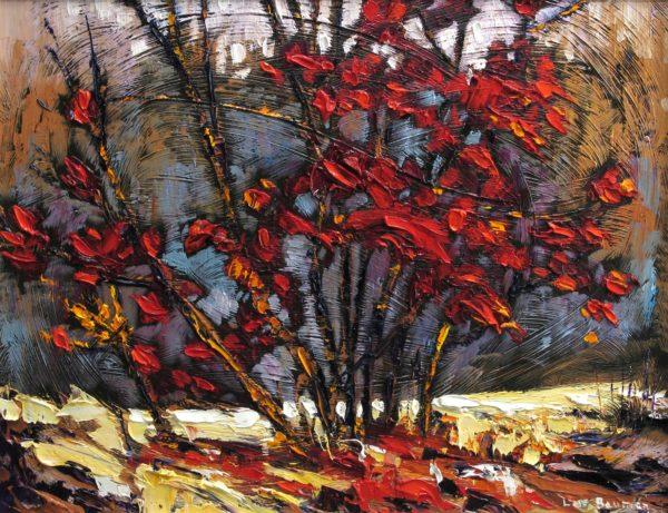Dogwood Shrub - Lois Bauman