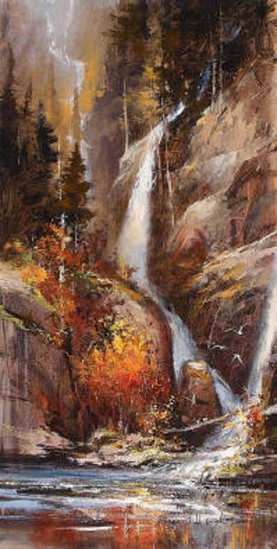 Down From The Glacier Brent Heighton