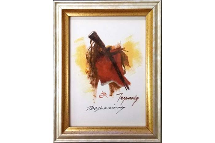 Dust of Many Pony Soldiers - Companion Remarque Print - Howard Terpning