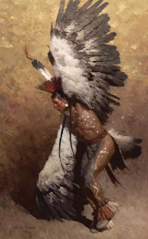 Eagle Dancer Potawatomi - Z. S. Liang