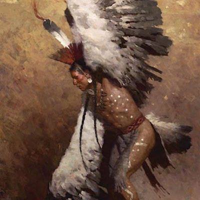 Eagle Dancer Potawatomi - Z. S. Liang