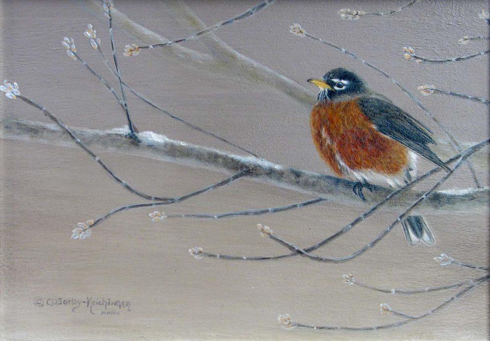 Early Bird - Cindy Sorley-Keichinger