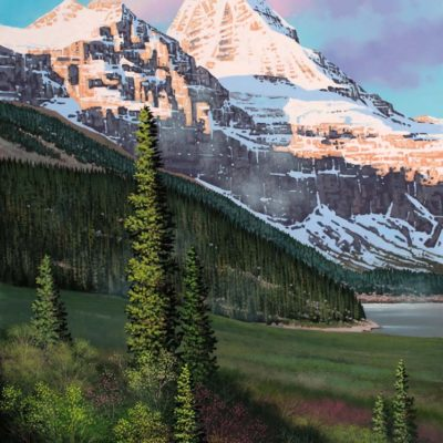 Early Light at Assiniboine - Roger Arndt