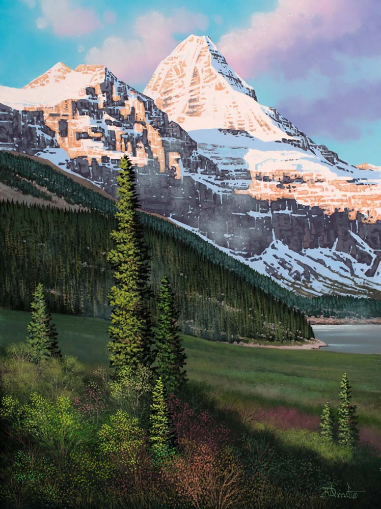Early Light at Assiniboine - Roger Arndt