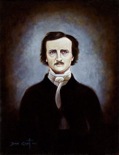 Edgar Allan Poe Portrait - David Grant