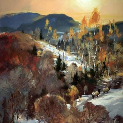 Elk Trail Brent Heighton
