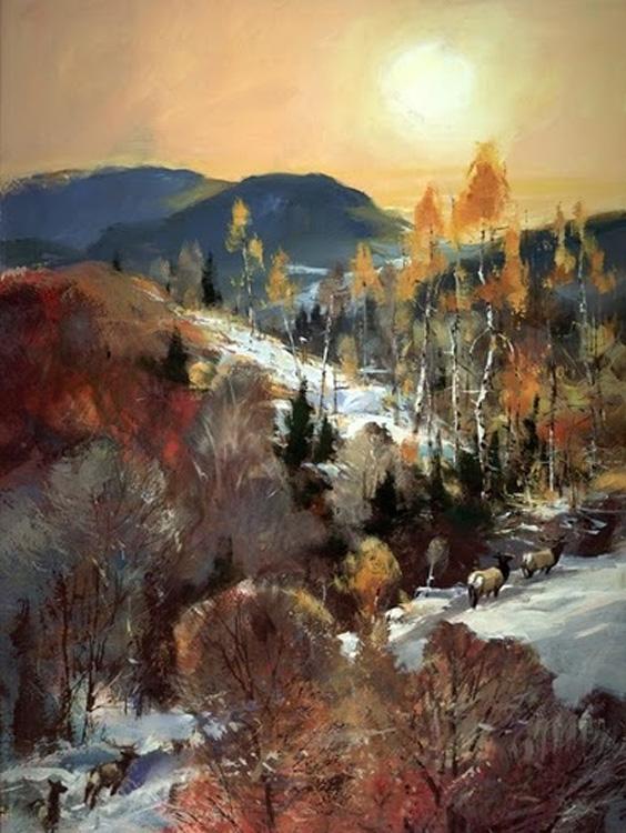 Elk Trail Brent Heighton