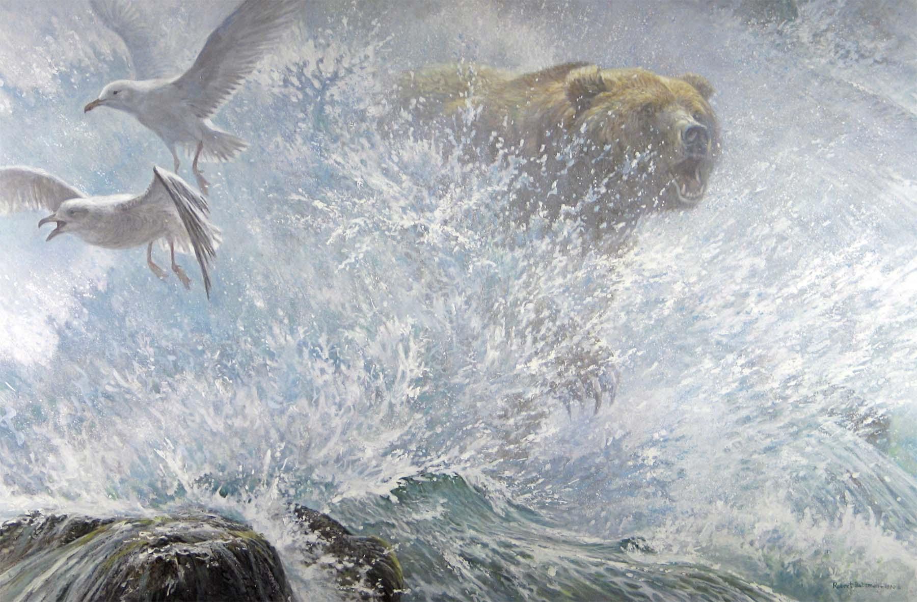 Endangered Spaces - Grizzly - Robert Bateman