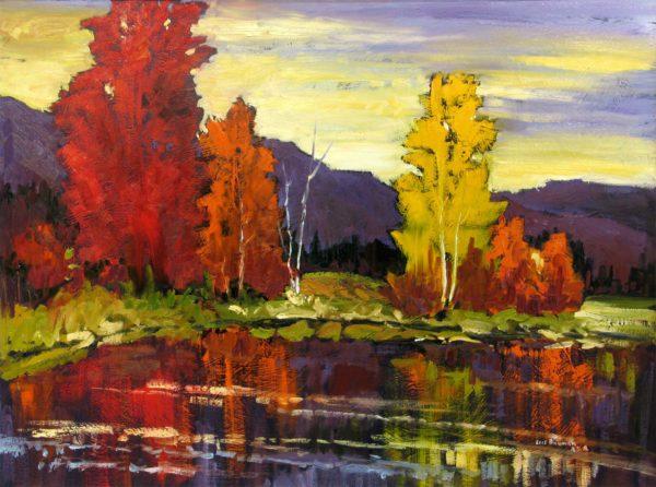 Evening Reflection - Lois Bauman