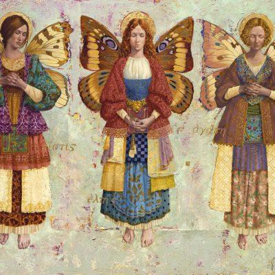 Faith, Hope, and Charity - James Christensen