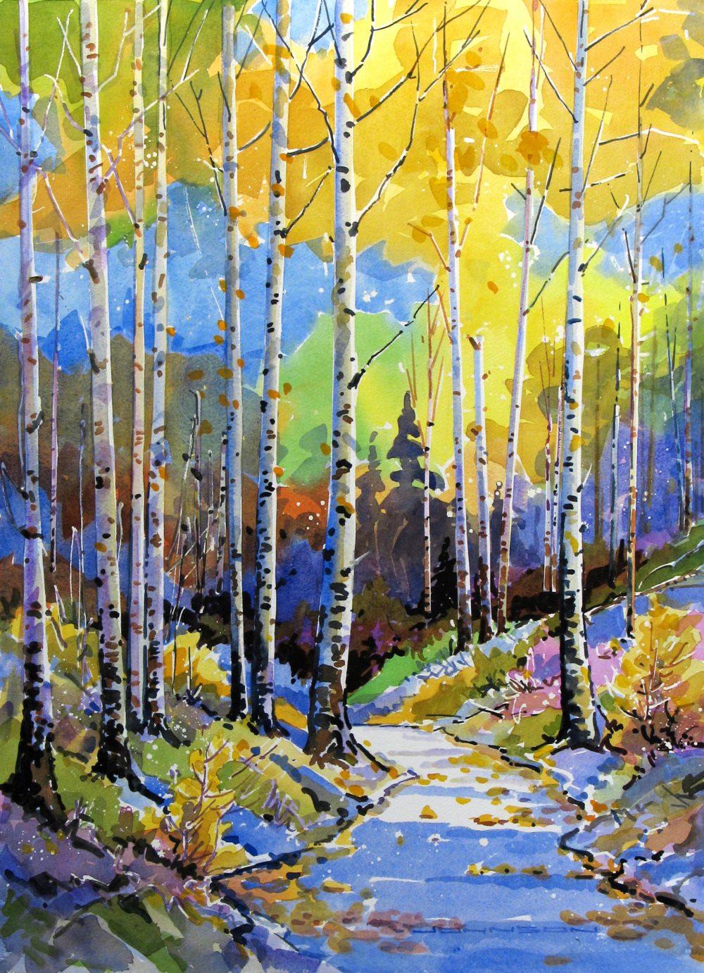 Fall Aspen I - Gregg Johnson