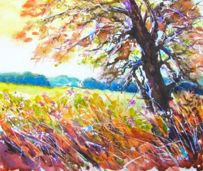 Fall Meadow - Audrey Pfannmuller