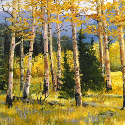 Fall On The Old Banff Road Jean Peters