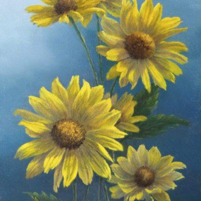 False Sunflowers - Elsie Baer