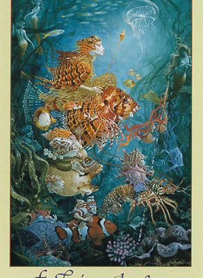 Fantasies of the Sea - Poster - James Christensen