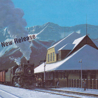 Fernie Station Circa 1950 Max Jacquiard