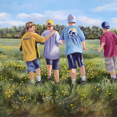 Field Of Friends Joan Healey