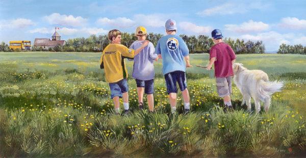 Field Of Friends Joan Healey