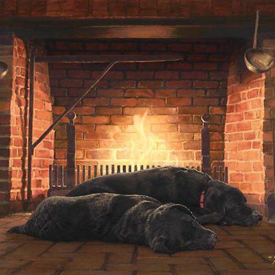 Fireside Friends - John Weiss