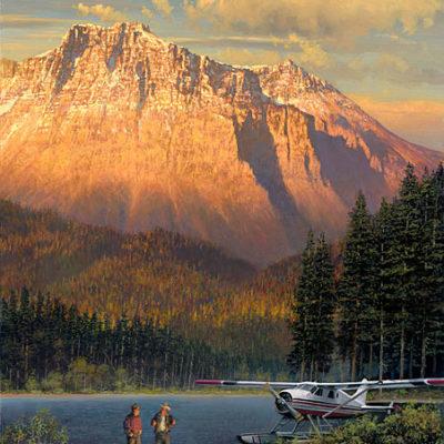 Fish Tales At Beaver Camp William S. Phillips