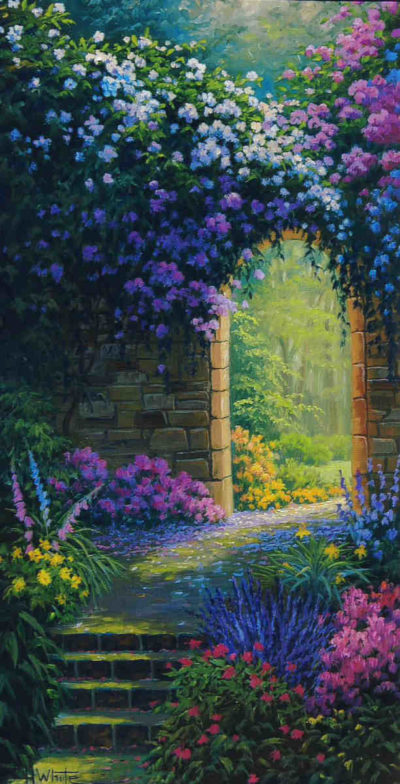 Floral Gateway Charles White