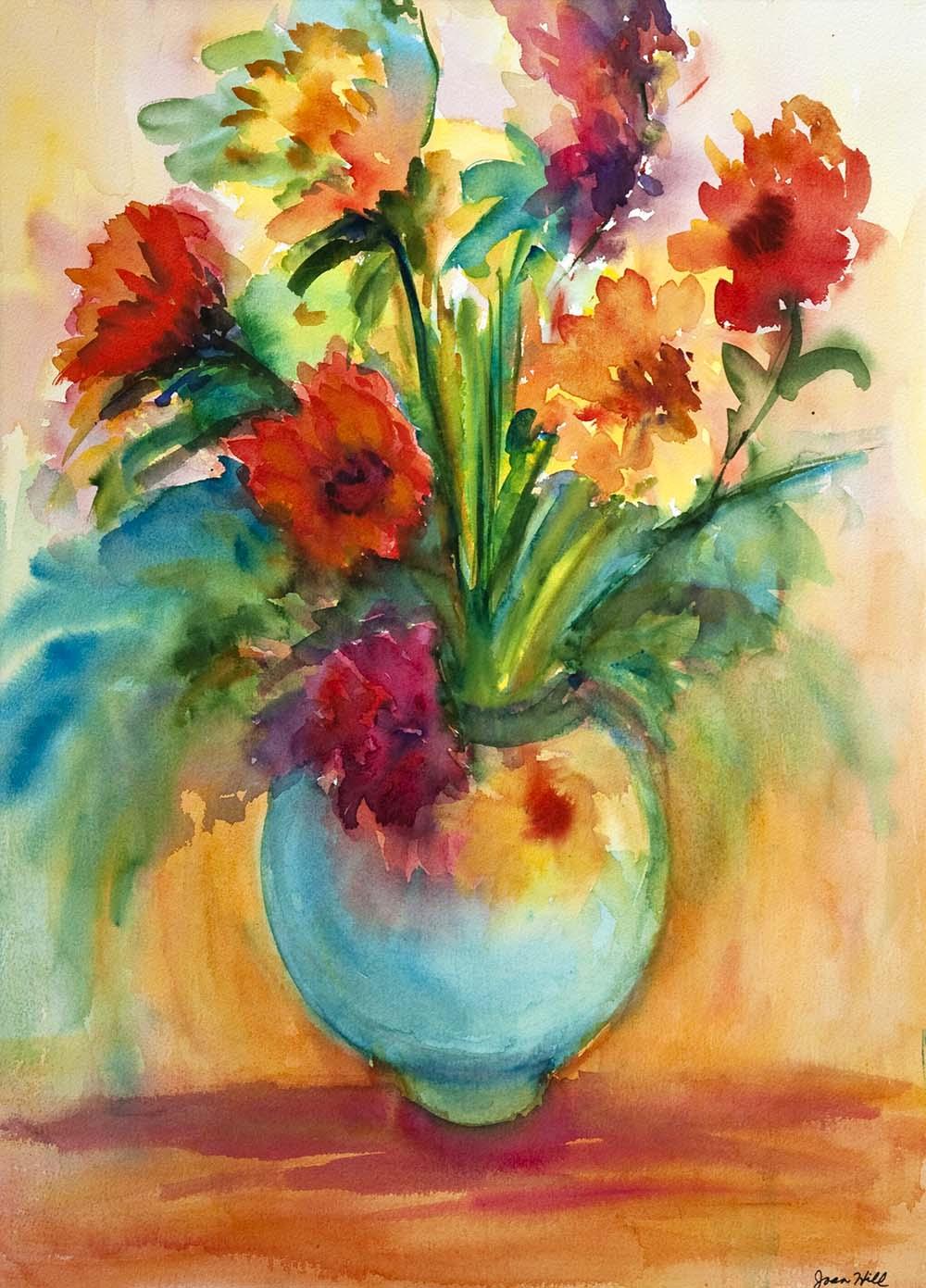 Floral Still Life - Joan Hill