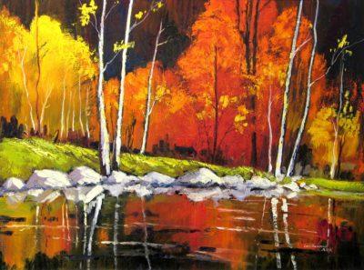 Forest Pond - Lois Bauman