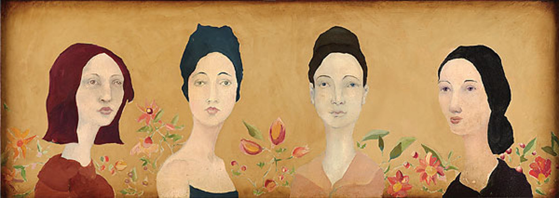 Four Spanish Sisters Cassandra Barney