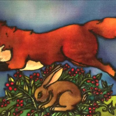 Fox and Hare - Holly Carr