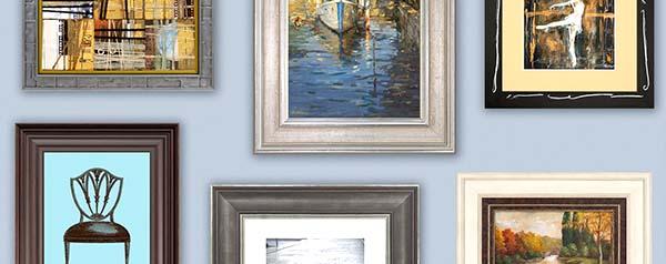 Framed Art on Wall - Edited - Custom Picture Framing