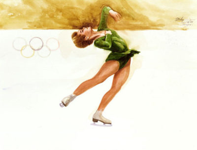 Free Skating Ken Danby