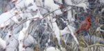 Fresh Snow - Cardinal - Robert Bateman