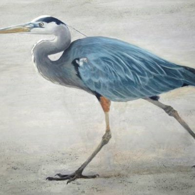 Full Stride - Great Blue Heron - Robert Bateman