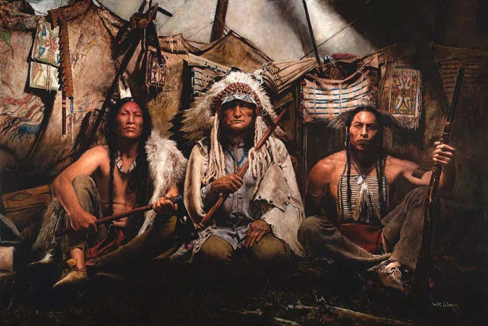 Gall – Sitting Bull – Crazy Horse, 1876 - John Coleman