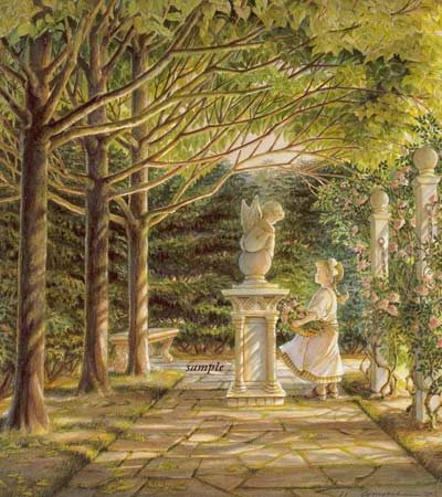 Garden Angel Trisha Romance