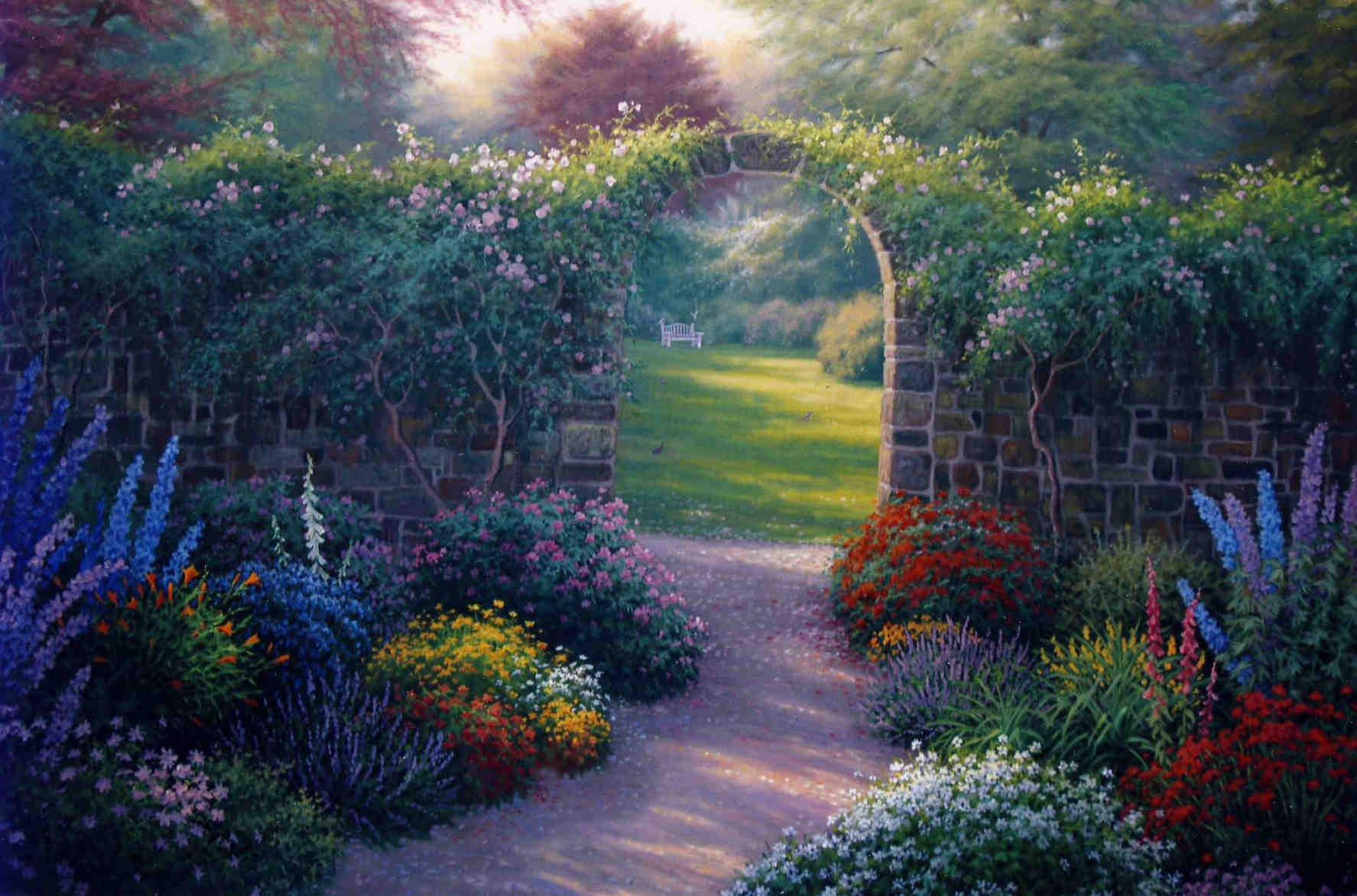 Garden Portal Charles White