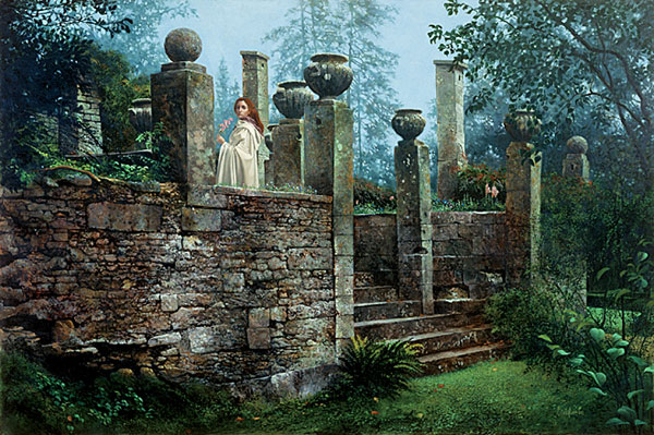 Garden Rendezvous - James Christensen