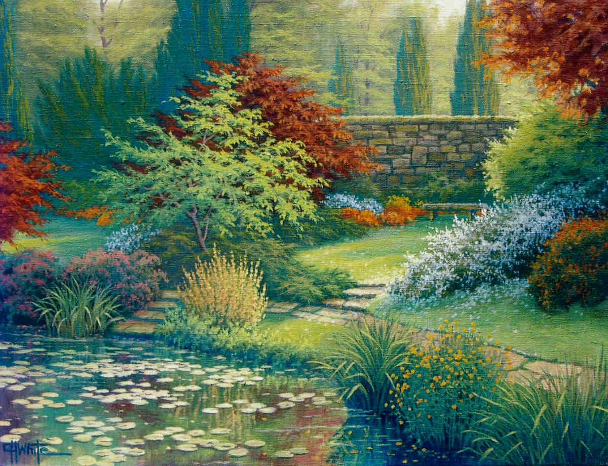 Garden Reverie Charles White