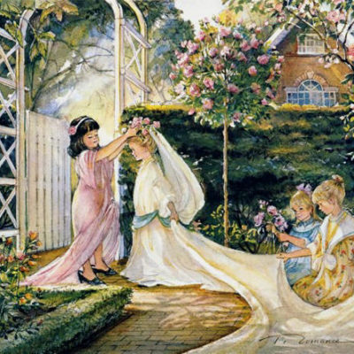 Garden Wedding Trisha Romance
