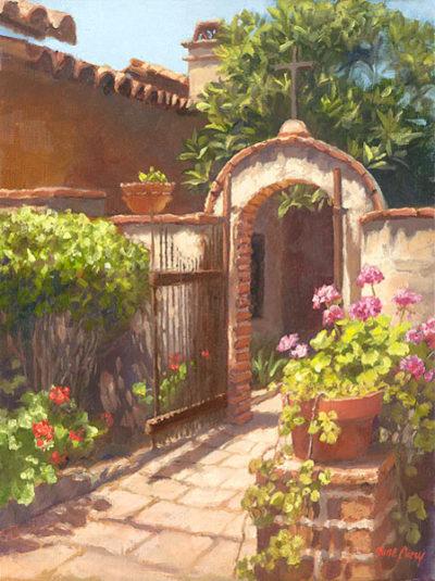 Garden Of The Bells June Carey